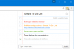 Anote as tarefas no Chrome com o Simple To-Do List