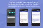 Copie qualquer texto no Android com o Universal Copy