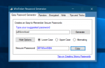 Crie senhas fáceis de lembrar com o WinTinker Password Generator
