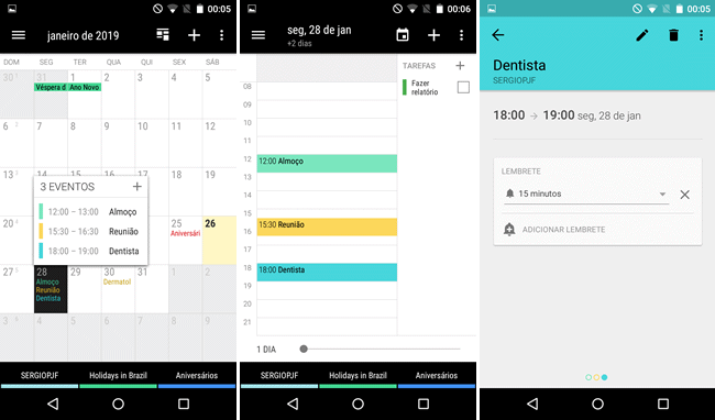 Calendario Business.Organize Sua Agenda Com O Calendario Business