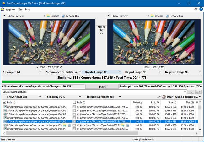 Localize e delete fotos duplicadas no Windows