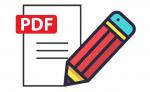 Como preencher formulários em PDF