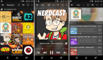 Ouça podcasts no Android com o Podcast Addict
