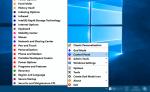 Acesse as configurações do Windows 10 com um clique