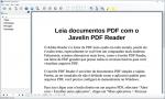 Leia documentos PDF com o Javelin PDF Reader