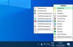 Crie um menu com seus programas com o SystemTrayMenu
