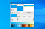 Capture amostras de cores na tela com o Just Color Picker
