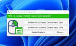 Restaure o menu de contexto clássico no Windows 11