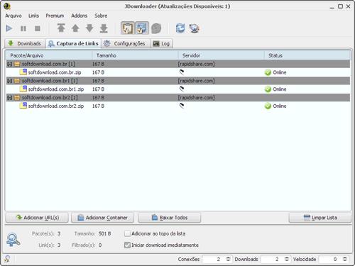 varios arquivos filefactory