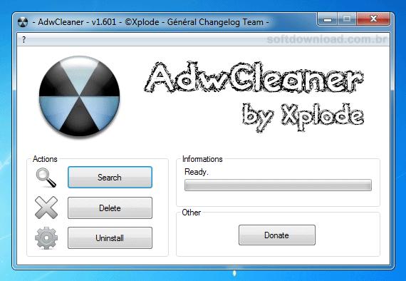 Programa para remover malwares do Windows - AdwCleaner
