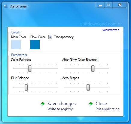 aero tuner windows 7 ultimate