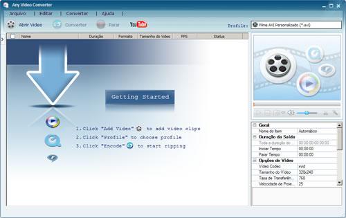 Any video converter conversor de vdeo avi mp4 flv etc stopboris Image collections