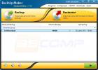 Faça o backup de seus arquivos com o Backup Maker