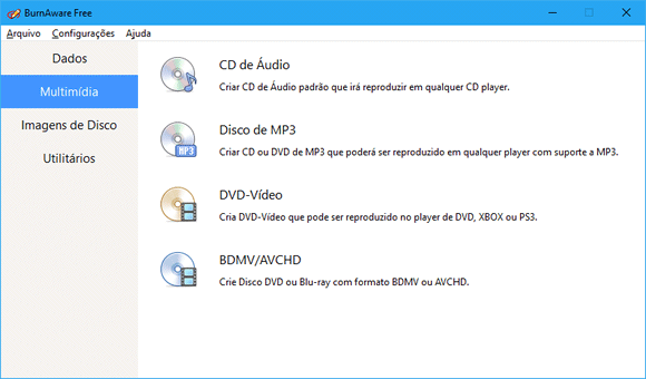 gravador de cd e dvd mp3 gratis