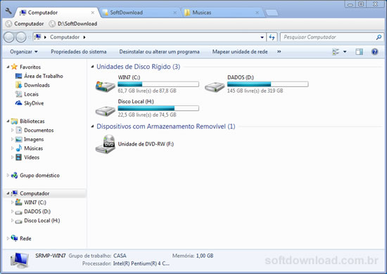 Adicione guias no Windows Explorer com o Clover 2