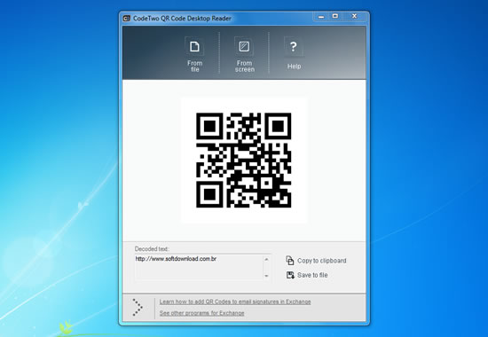 Codetwo Qr Leitor De Códigos Qr Para Windows