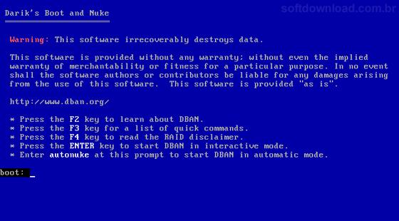 [Software]Programas essenciais para um técnico Dban1
