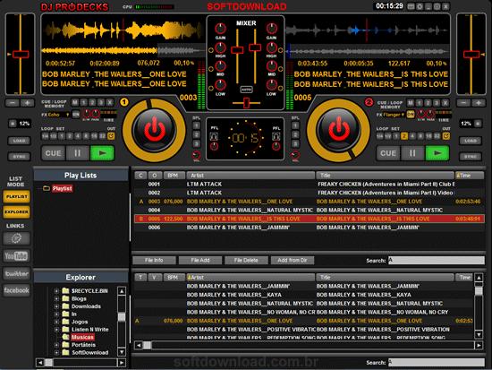 programa de dj para mixagem