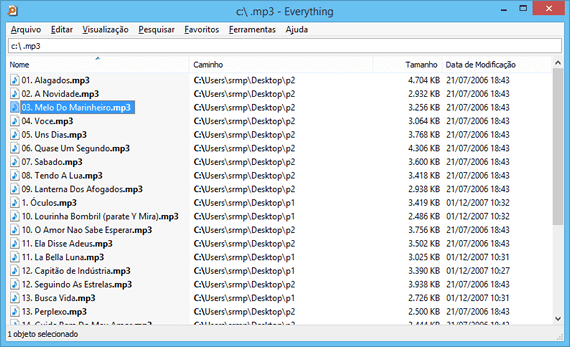 Pesquise arquivos no Windows com o Everything