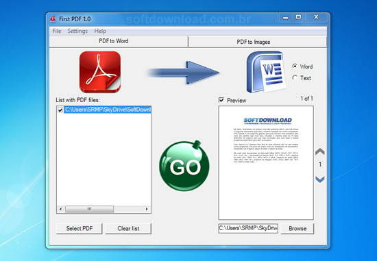 Como converter um documento de doc para pdf viewer