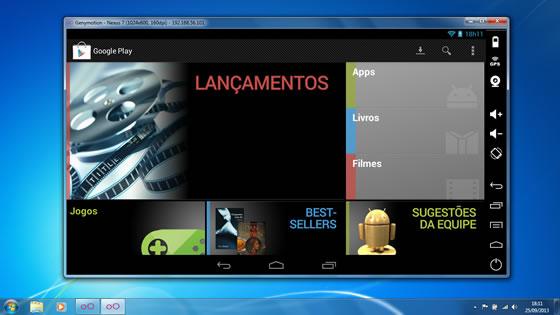 GenyMotion - Emulador do Android para PC