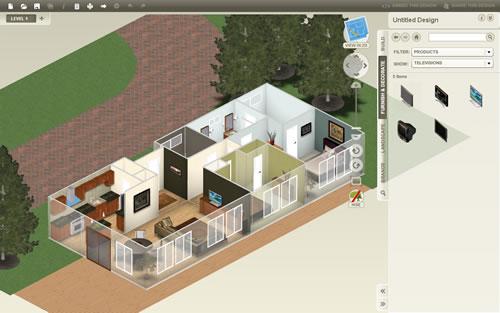 Desenhe e decore a casa de seus sonhos com o autodesk homestyler - Construir casas en 3d ...