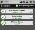 LookOut- Antivírus gratuito para celulares Android, BlackBerry e Windows Mobile
