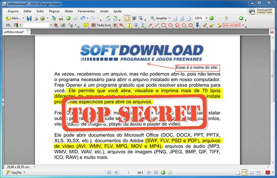 PDF-XChange Viewer - Leitor de PDF para Windows