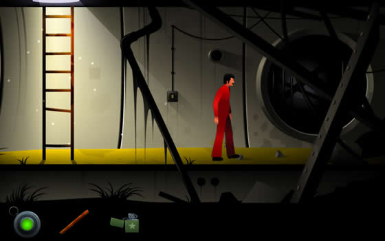 Jogo gratuito para Android - The Silent Age