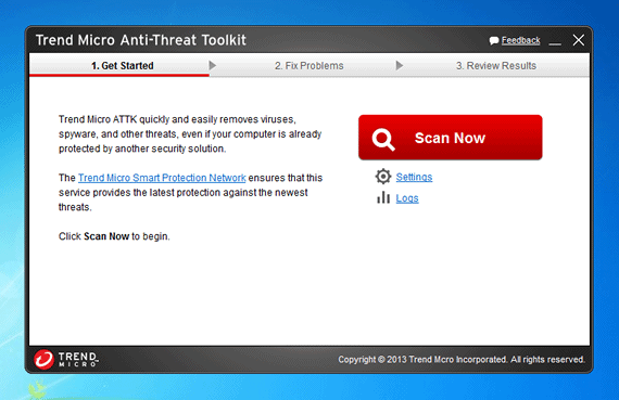 Examine seu PC com o Trend Micro Anti-Threat Toolkit