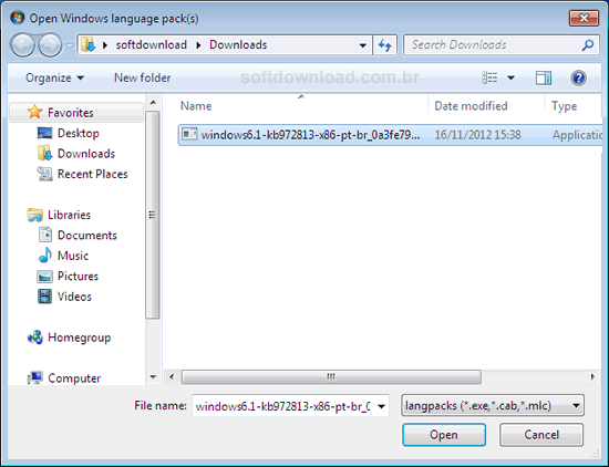 Como colocar o Windows 7 Starter, Home e Professional em português